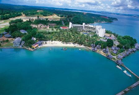 pantai sumatra bersih