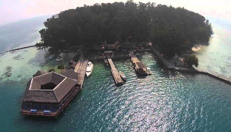 pulau pelangi kepulauan seribu jakarta