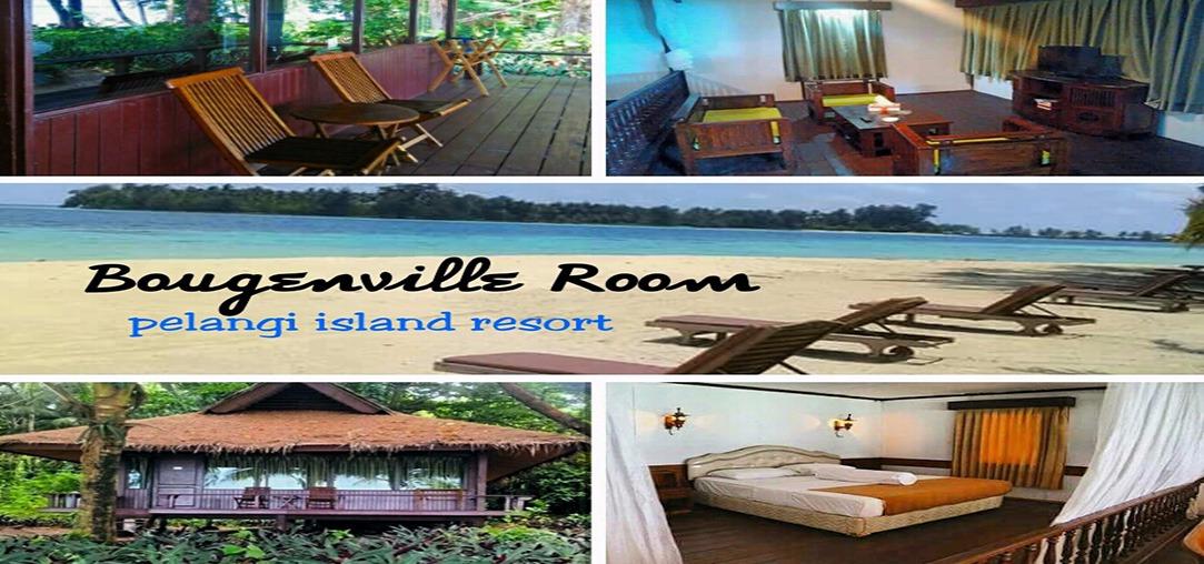 Cottage Pulau pelangi kepulauan seribu Tipe baugenVille room