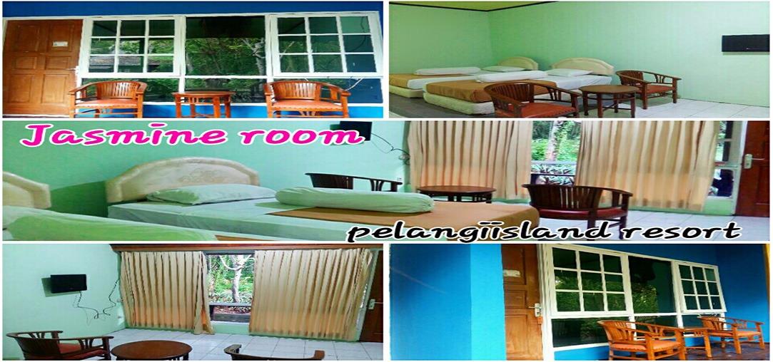 cottage Pulau pelangi kepulauan seribu Jasmin room