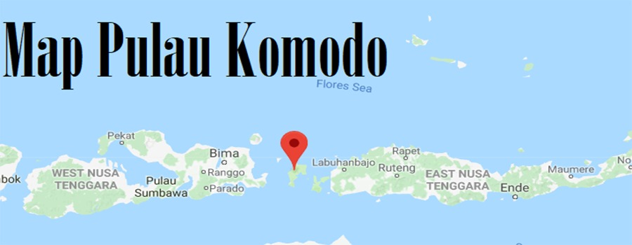 Map Pulau Komodo