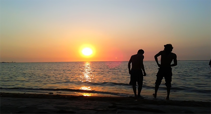 wisata pulau tidung pantai