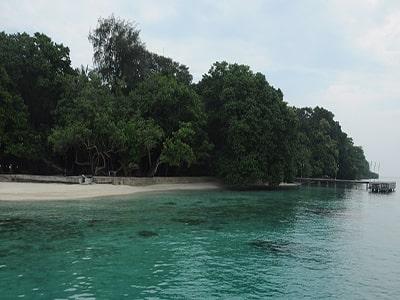 Paket pulau Bintang kepulauan seribu