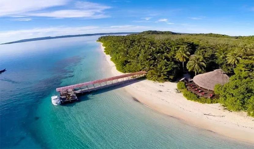 pantai Pulau Mentawai